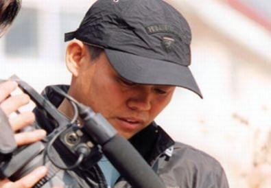 Kim Ki-duk při natáčení. Zdroj: zabriskiepoint.net