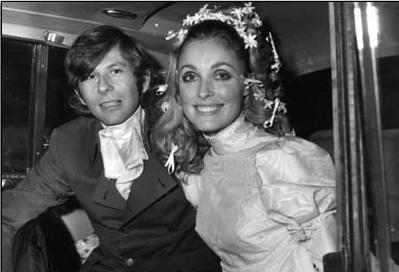 Svatební snímek Romana Polanski s jeho druhou ženou SharonTateovou Zdroj:collider.com