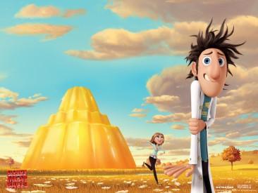 Flint Lockwood A rosnička Sam, Zdroj: Sony Animation