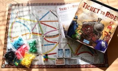 Ticket to Ride - balení, Foto: Hana Vítová, Topzine.cz