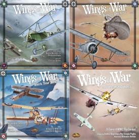 Wings of War - základní hra a datadisky, Autor: Dušan Takáč