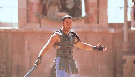 Russell Crowe v oskarovém filmu Gladiator