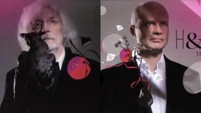 Umělci Petr Hapka a Michal Horáček. Zdroj: Booklet s texty