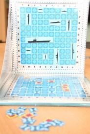 Magnetická hra Lodě - rozehraná hra, Foto: Hana Vítová