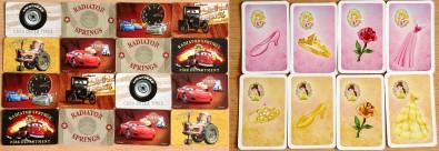Cars: Radiator Springs Rallye + Princezny na plese - karty, Foto: Hana Vítová, Topzine.cz