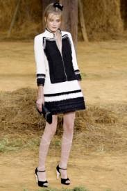 A ještě jednou Chanel, spring 2010, Zdroj: style.com