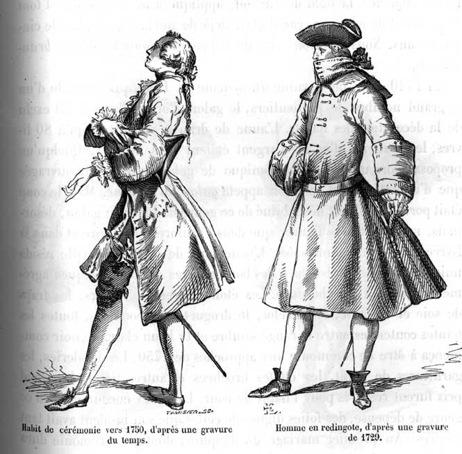 Century French Fashion Mens