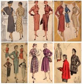 Modely pro rok 1951, Zdroj: fashion-era.com
