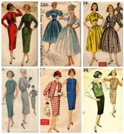 Modely pro rok 1959, Zdroj: fashion-era.com