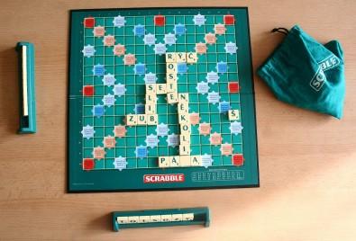 Scrabble - rozehraná hra, Foto: Hana Vítová, Topzine.cz