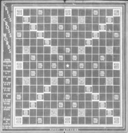 Původní verze Scrabble, Zdroj: scrabble-assoc.com