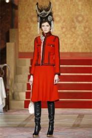 Chanel i v koleci fall 2009 zůstává věrná své zakladatelce, Zdroj: style.com