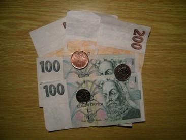 Méně peněz v novém roce Foto: Jakub Mikuš