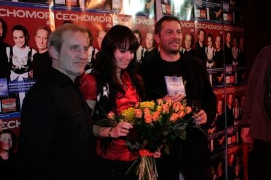 František Černý, Ewa Farna, Karel Holas. Foto: Karel Slabý