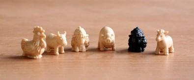 Černá ovce - figurky, Foto: Dušan Takáč
