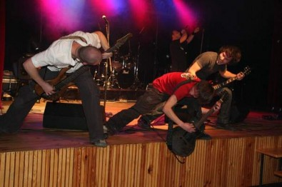 Crossoverová Pěchota se v minulosti stala vítězem mezinárodního soutěžního festivalu Jesien Muzyczna 2008 v polském městě Grodków, Zdroj: archív