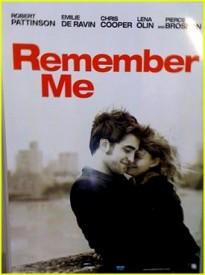 Remember me Zdroj: distributor filmu