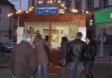 Široká nabídka bramborových produktů, Foto: Eva Mácová, Topzine.cz