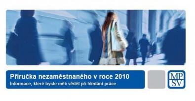 Příručka nezaměstnanosti Zdroj: mpsv.cz