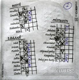 Cluedo - poznámkový blok, Foto: Dušan Takáč, Topzine.cz