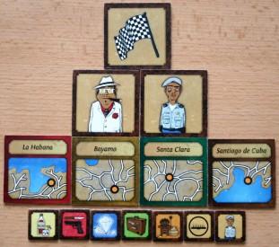 Cuba Cube - kartičky měst, bosse, policajta a cíle, Foto: Hana Vítová, Topzine.cz