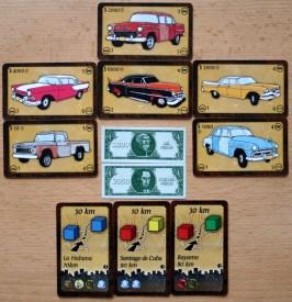 Cuba Cube - kartičky aut, úkolů a kubánské peníze, Foto: Hana Vítová, Topzine.cz