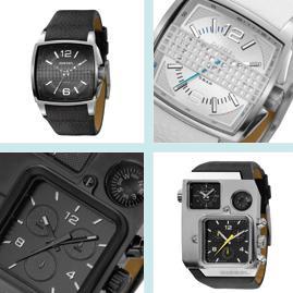 Pánské hodinky značky Diesel. Zdroj: diesel.com