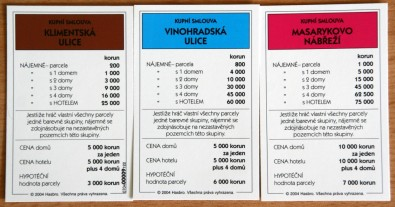 Monopoly - karty, Foto: Hana Vítová, Topzine.cz
