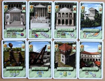 Řím - karty staveb, Foto: Hana Vítová, Topzine.cz