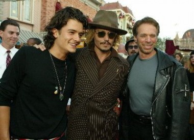 Orlando Bloom, Johnny Depp a Jerry Bruckheimer