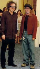Tim Burton a Johnny Depp