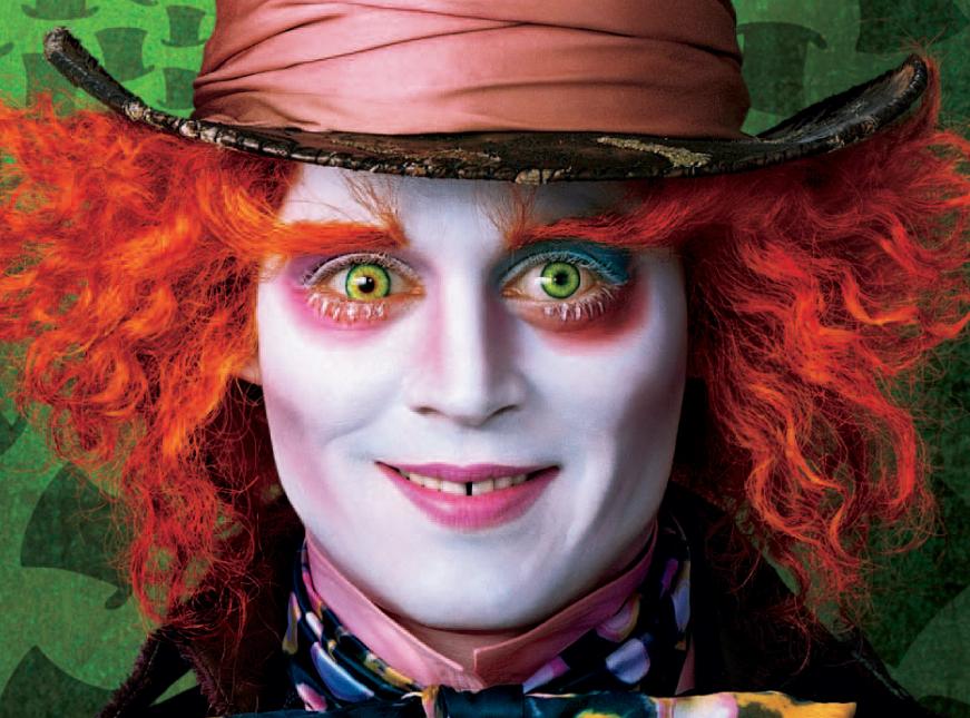 """Johnny Depp zase v jedné ze svých """"divných"""" rolí, Zdroj: distributor filmu"""