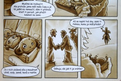 Kiumbové - Tajuplný balík z Afriky - komiks, Foto: Dušan Takáč, Topzine.cz