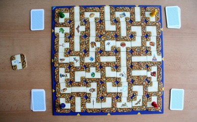 Labyrinth - připravená hra, Foto: Dušan Takáč, Topzine.cz