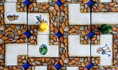 Labyrinth - detail hrací plochy, Foto: Dušan Takáč, Topzine.cz