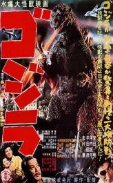 Japonský plakát k filmu Godzilla (1954) Zdroj: wikipedia.org