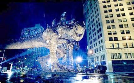Godzilla (1998) Zdroj: aceshowbiz.com