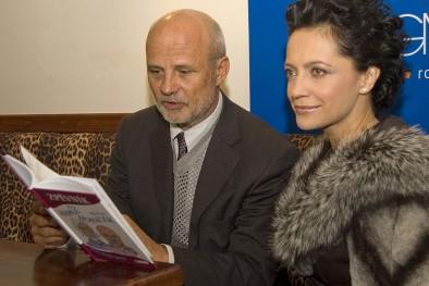 Michal Horáček s Lucií Bílou, Zdroj: Radek Adámek, Topzine.cz