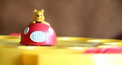 Medvídek Pú: Dodgems - Pú v autíčku, Foto: Hana Vítová, Topzine.cz