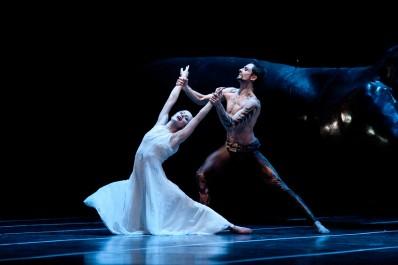 Balet Othello, Richard Kročil (Othello) a Zuzana Susová (Desdemona)