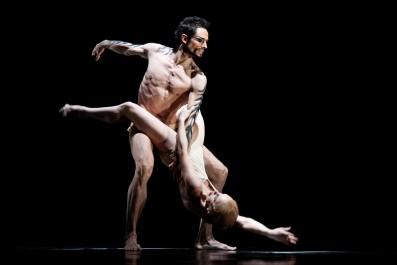 Balet Othello, Richard Kročil (Othello), Zuzana Susová (Desdemona), Balet Othello, Richard Kročil (Othello), Foto: VOJTa Herout, Topzine.cz