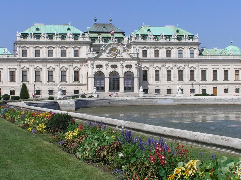 FOTO: zámek Belvedere, Vídeň