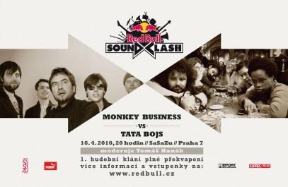 V unikátním projektu poměří své síly Tata Bojs a Monkey Business, Zdroj: Oficiální foto Red Bull Soundclash
