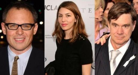 Bill Condon, Sofia Coppola a Gus Van Sant