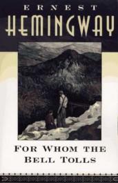Obálka amerického vydání knihy Komu zvoní hrana z roku 1995