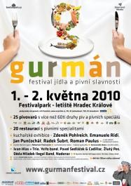 Prospekt k festivalu, Zdroj: gurmanfestival.cz