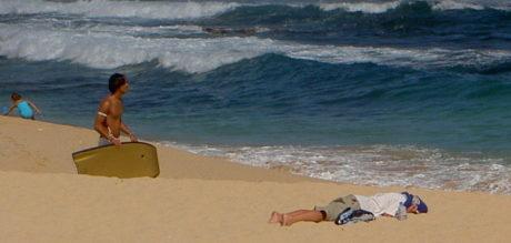 FOTO: Havajská pláž
