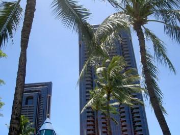Budova v Honolulu, Autor: Pavla Brodacká