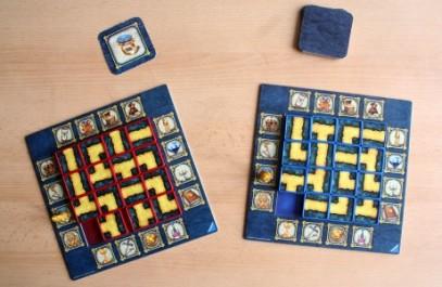 Labyrinth Duel - připravená hra, Foto: Hana Vítová