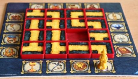 Labyrinth Duel - rozehraná hra, Foto: Hana Vítová